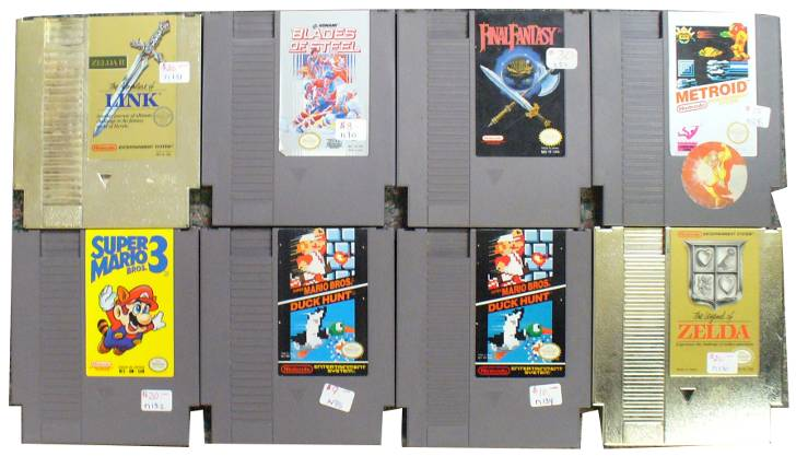 Some NES Games