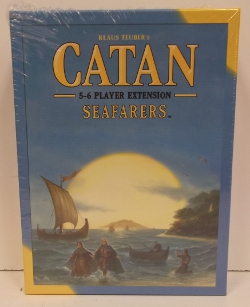 Image of: Catan, Seafarers 5-6 Expansion