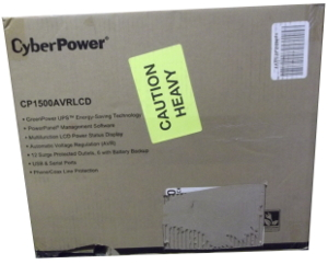 Image of: CyberPower Battery Backup