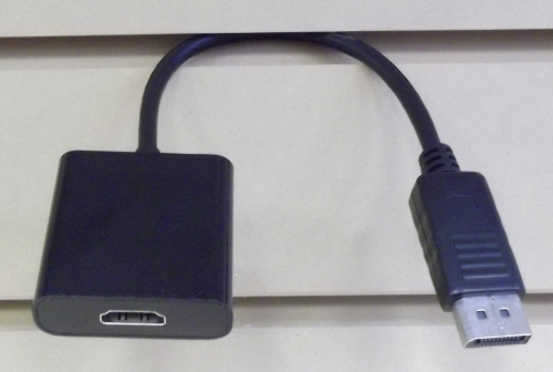Image of: Display Port to HDMI Cable