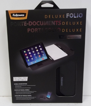 Image of: Fellowes Deluxe Folio