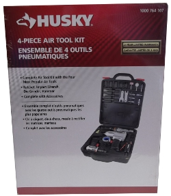 Image of: Husky 4 Piece Air Tool Kit