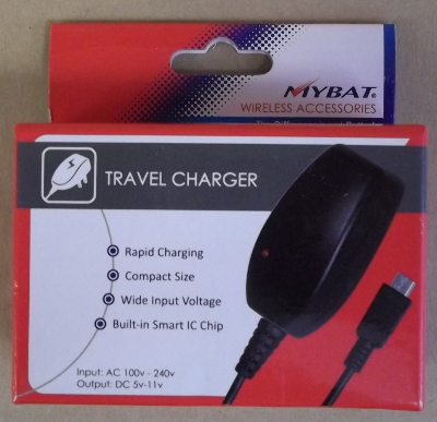 Image of: Micro USB Travel Charger