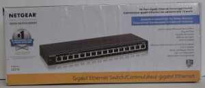Image of: 16 Port Network Switch