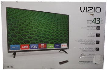 Image of: Vizio 43 Inch Smart TV