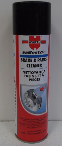 Image of: Wurth Brake Cleaner