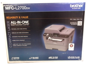 Image of: Brother Laser Printer