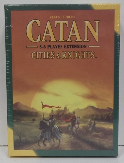 Image of: Catan Cities and Knights, 5-6 Player Expansion