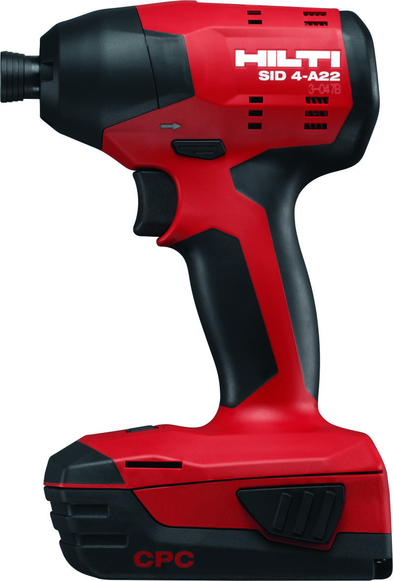Image of: Hilti Cordless Impact Driver