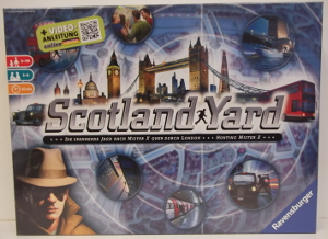Image of: Scotland Yard Board Game