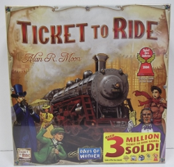 Image of: Ticket to Ride