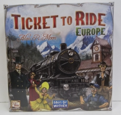Image of: Ticket to Ride Europe