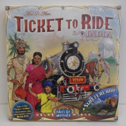 Image of: Ticket to Ride India